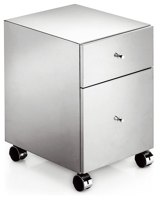 LB Runner Standing Steel Mobile Cabinet Storage Wheel Office File Cabinet - Contemporary ...