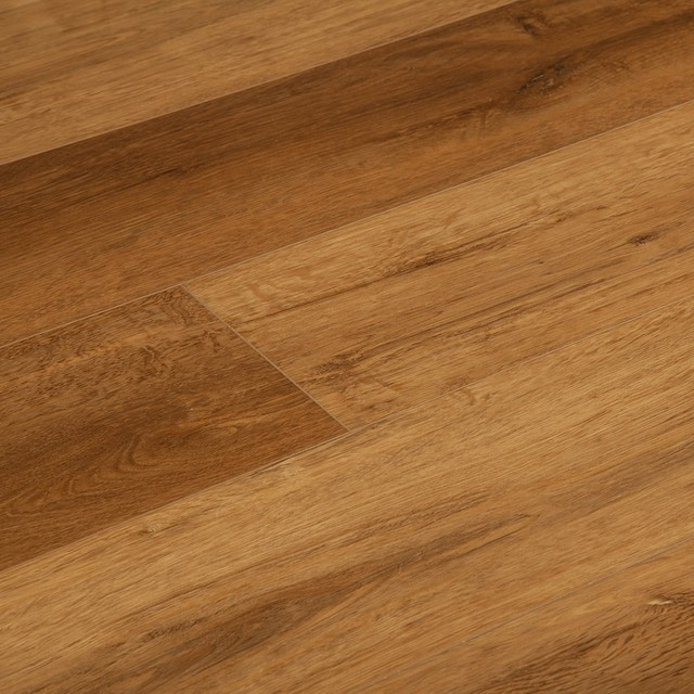 Sample Ayer Rigid Core Watereproof Stain Resistant Wood Grain Vinyl Planks with Underpad Attached Vesdura 5.3mm SPC Click Lock Elevation Collection