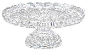 Waterford Crystal Waterford Crystal Lace Footed Cake Plate 160034  sc 1 st  Houzz & Waterford Crystal Waterford Crystal Lace Footed Cake Plate 160034 ...