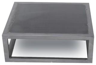 table basse acier bross i love roubaix dimensions 100x100 cm scandinave table basse par. Black Bedroom Furniture Sets. Home Design Ideas