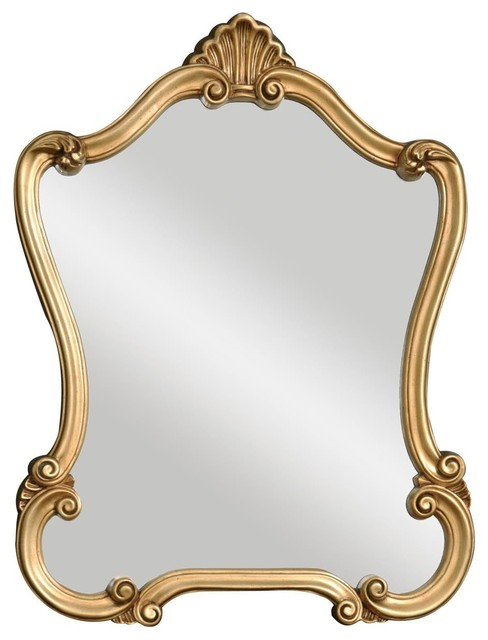 Katherine Traditional Lightly Distressed Bronze Wall Mirror Victorian Wall Mirrors By Innovations Designer Home Decor Accent Furniture Houzz
