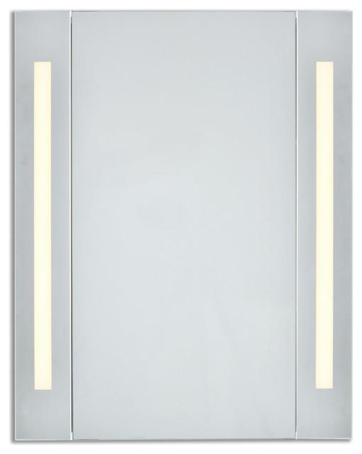 "Elixir 3000k Cabinet Mirror, 23.5""x30""."