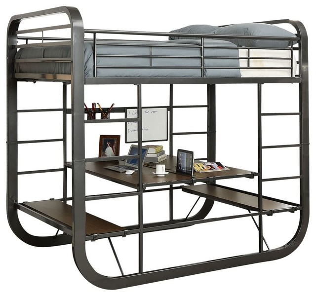 wentworth metal bunk bed full over full beds