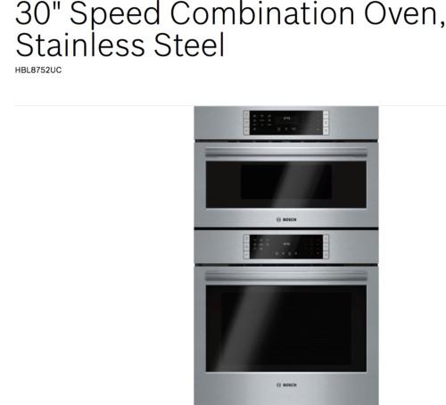 Combo Oven Bosch Vs Kitchenaid Flush Or Not? Help!