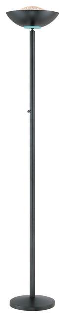 Halogen Torchiere Lamp, Black, Type J 175W