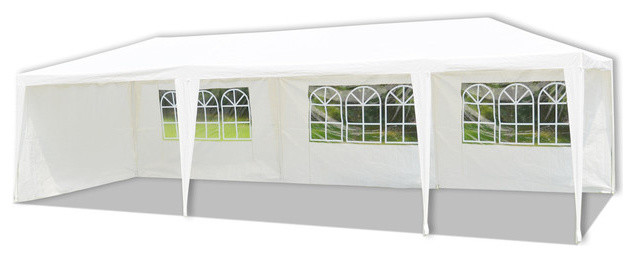 10u0027 x 30u0027 Wedding Party Tent Outdoor C&ing Gazebo with Walls modern-canopies  sc 1 st  Houzz & 10u0027 x 30u0027 Wedding Party Tent Outdoor Camping Gazebo with Walls ...