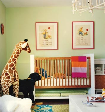 eclectic nursery- dominomag eclectic kids