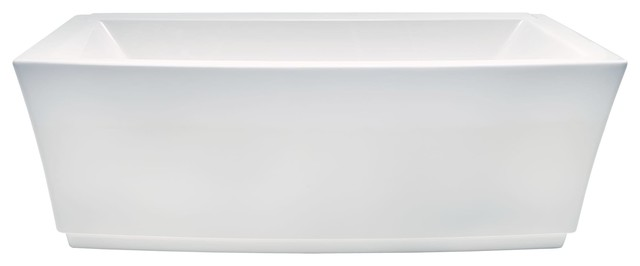 American Standard Townsend Freestanding Tub Ctr Drn White