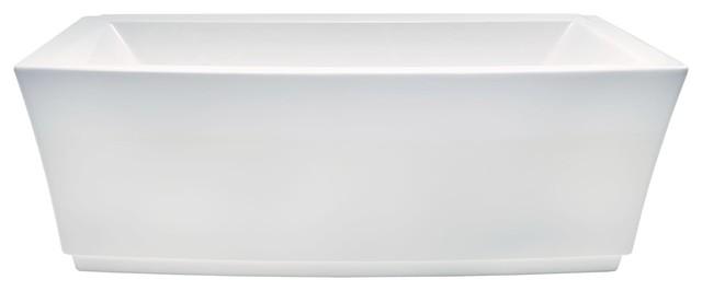 American Standard Townsend Freestanding Tub Ctr Drn White