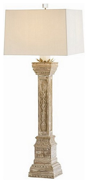Arteriors Home Montauban Hand Carved Solid Wood Lamp - DR12062-143 ...