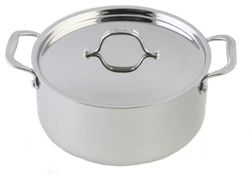 Le Chef 5-Ply Stainless Steel Dutch Oven, 5 Qt..