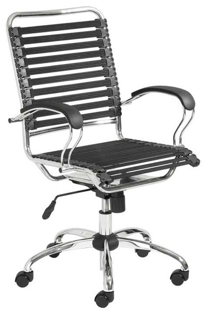 Bungie Flat J-Arm Office Chair by Euro Style