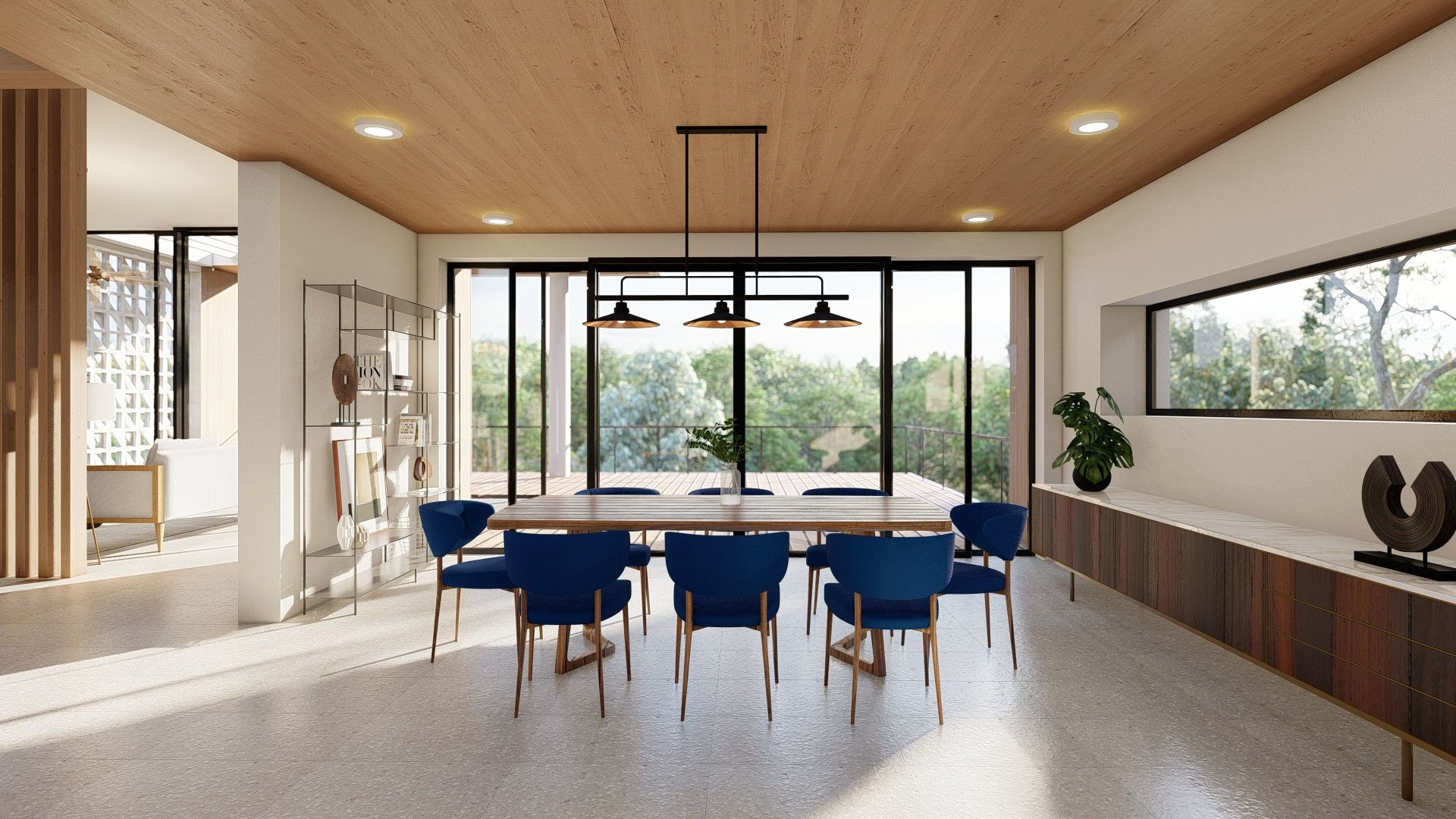 Passive House living space