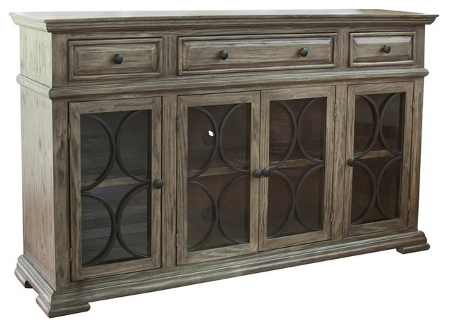 Griffin Distressed Sofa Table