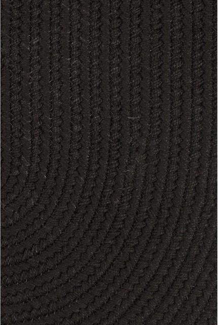 WearEver Poly Rug, Black, 6' Round   Houzz (App)