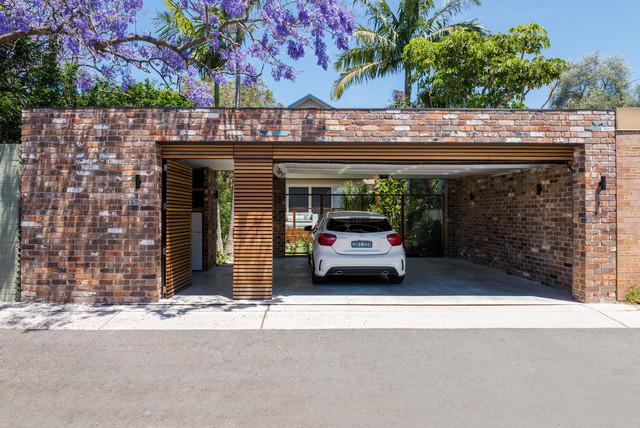 Randwick modern-garage