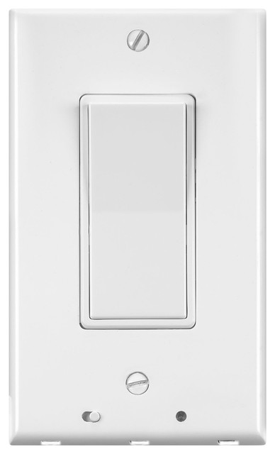 Lighted Rocker Switch Cover Plate