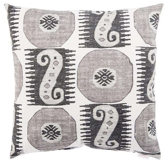 """Jaipur Odl Souk Treasure Outdoor Pillow, 18""""x18"""""""