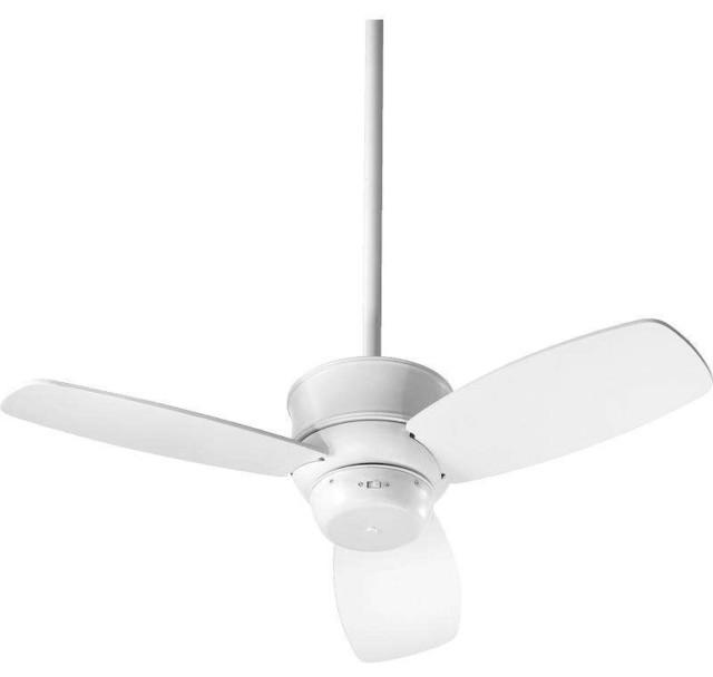 Quorum Gusto Ceiling Fan, Studio White