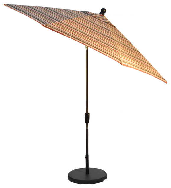 11 collar tilt umbrella sunbrella brannon redwood bronze frame outdoor umbrellas