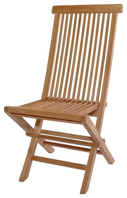 Unfinished Classic Medium Slat Back Folding Chair Set Of