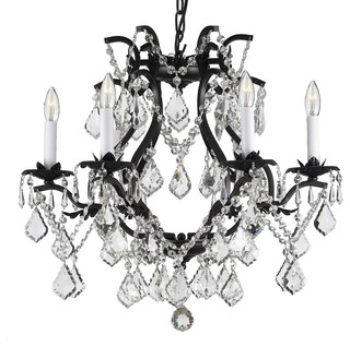 Plug in chandeliers houzz the gallery wrought iron crystal chandelier swag plug in chandeliers aloadofball Images