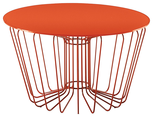 Superbe Zanotta Wire Coffee Table