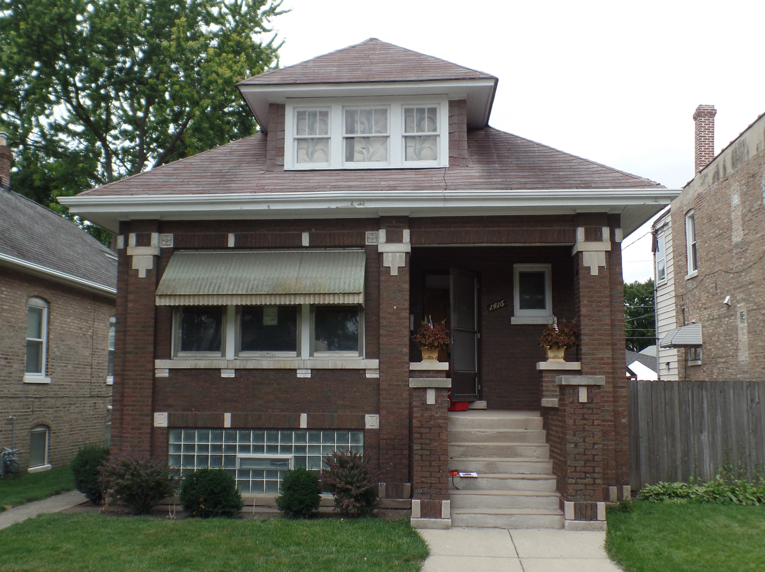 Bungalow Restoration and Addition - EXISTING