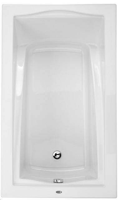 "60""x32"" Daphne Rectangular Bathtub With Tiling Flange, Mass-Air And Activ-Air."