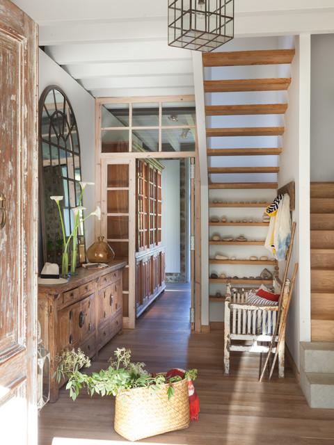 El mueble magazine rba revistas project becara casa de campo recibidor y pasillo otras - El mueble casas de campo ...