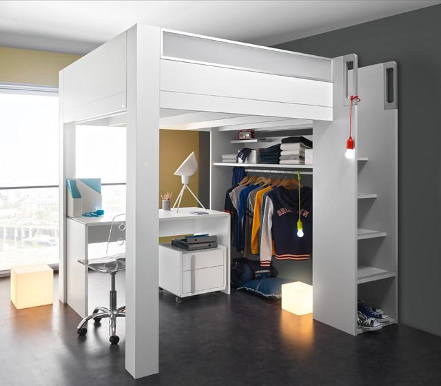 Dimix mezzanine bed modern toronto by gautier toronto - Mezzanine bedlamp ...