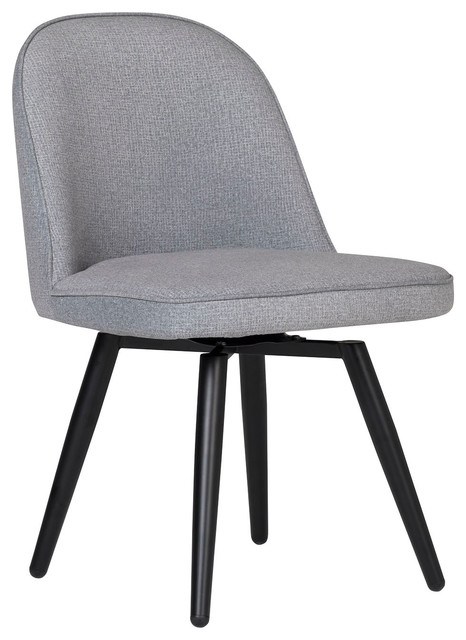 Admirable Studio Designs Home Dome Armless Swivel Dining And Office Chair Grey Ncnpc Chair Design For Home Ncnpcorg