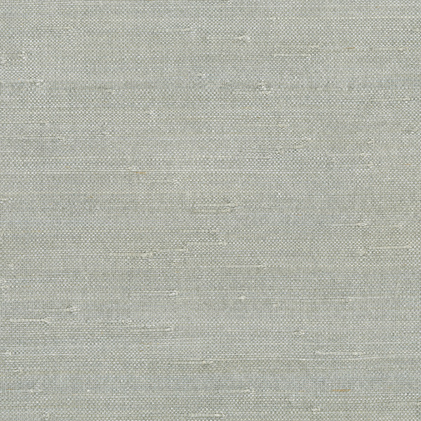 Jin Light Gray Grasscloth Wallpaper, Bolt.