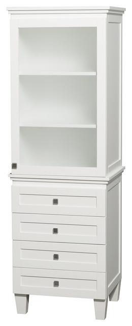 Bathroom Linen Tower Cabinet Storage