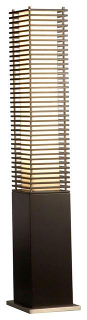 Kimura Accent Floor Lamp, Black by NOVA of California