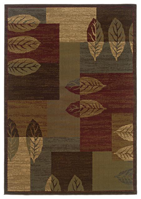 Oriental Weavers Tybee 2360r Brown Beige Geometric Area Rug 1 10 X2