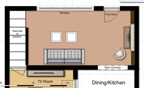 Living Room Layout Help