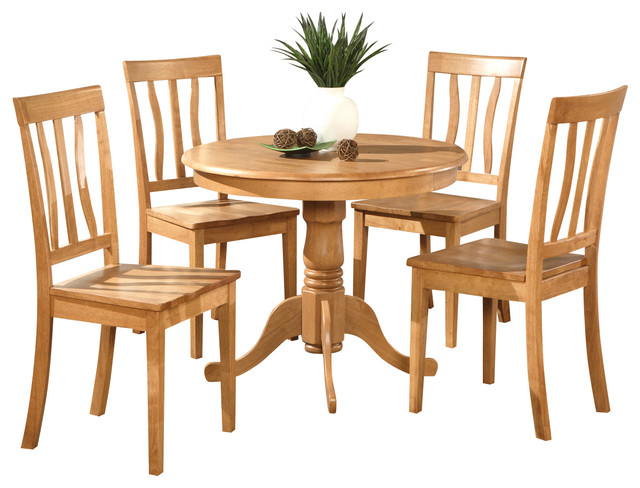 Anti w kitchen table set traditional dining sets by for Traditional kitchen table sets