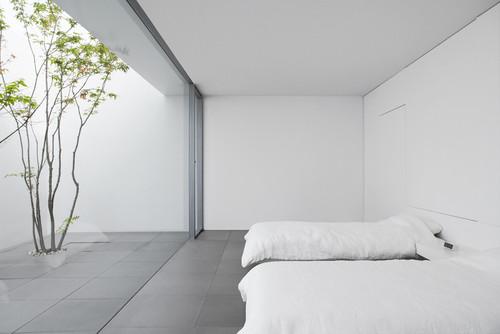 Bedroom at Minimalist House