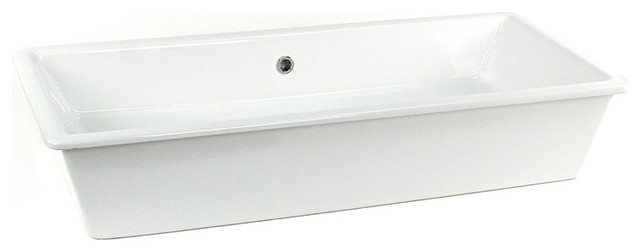 Above Counter Vessel or Built-In Ceramic Sink