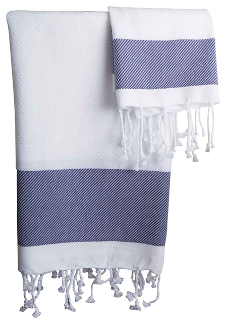 Scents And Feel Guest Hand Towels Plaid Jaquard Set Of