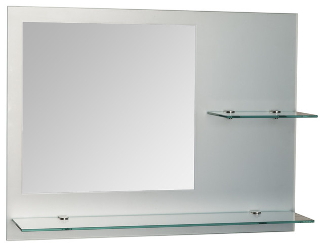18 x 24 bathroom mirror samara 24 x 18 quot frameless bathroom mirror contemporary 21766