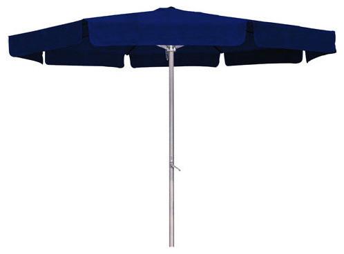 International Caravan 60403 And Nv Outdoor 8 Foot Aluminum Umbrella Navy.