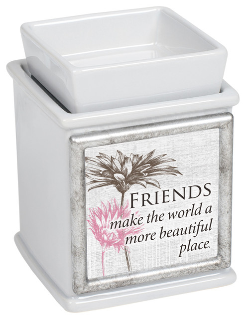 ELECTRIC WAX WARMER Handmade tart Burner SHEEP /& WILLOW  TREE Punched Tin Scent