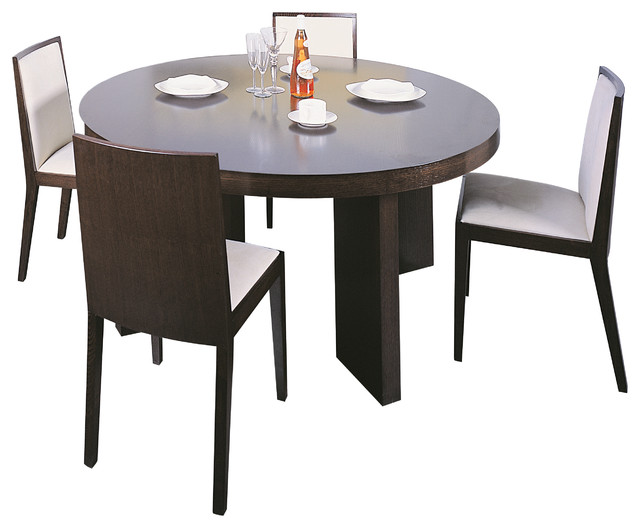 Omega Dining Table In Wenge 60 Round