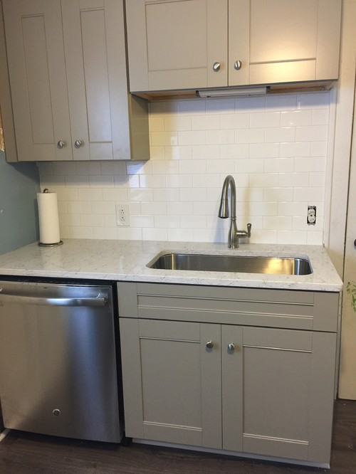 Change Grout Color On New Backsplash