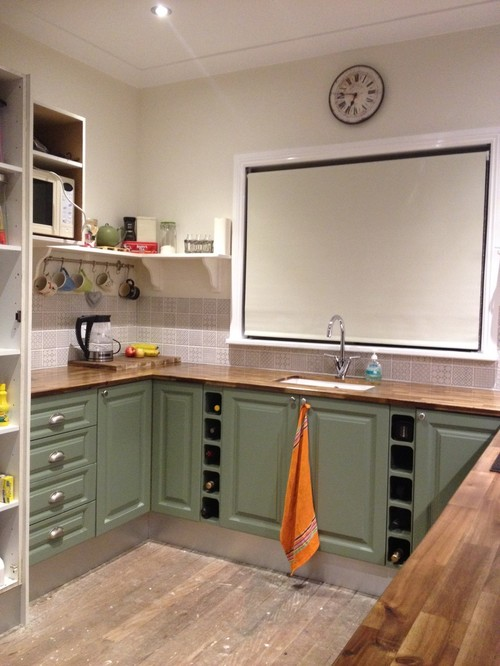 Ordinaire Brushed Steel Kickboards Or Cabinet Green?