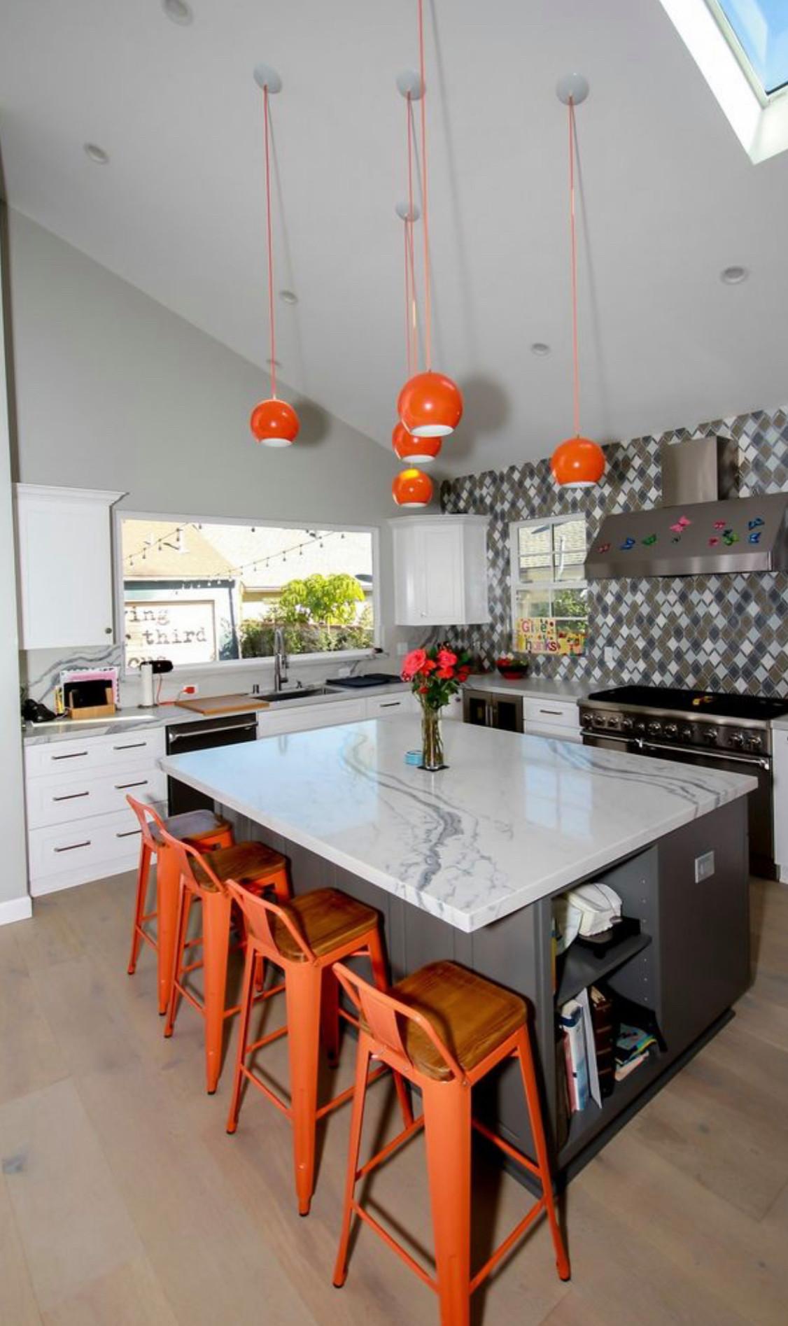 Kitchen remodeling in Malibu