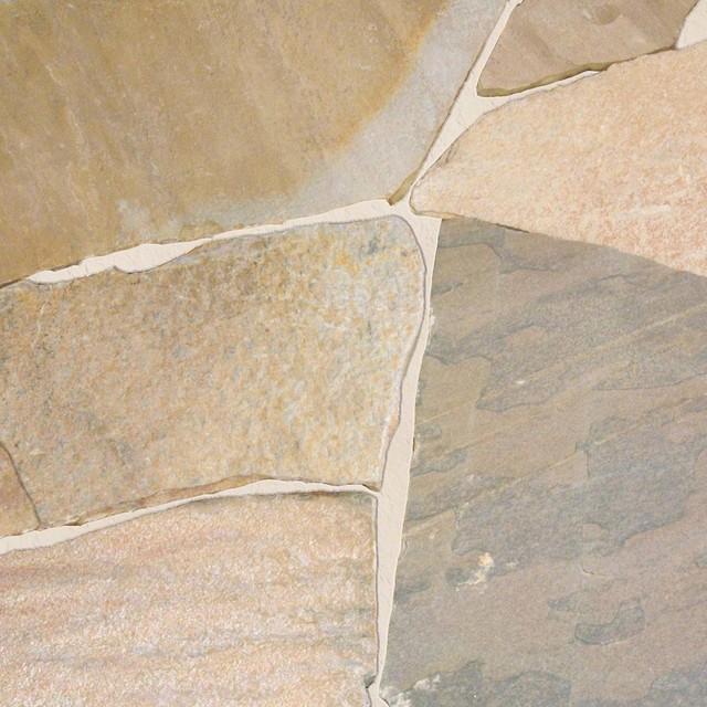 """VKD Flagstones, Quartzite, 12""""x12"""", Natural Cut, 100 Sq. ft."""
