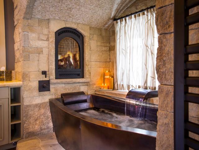 Copper Soaking Tub Bathroom By Diamond Spas